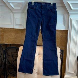 NYDJ Barbara Bootcut Lift Tuck Tech Dk Blue Jeans